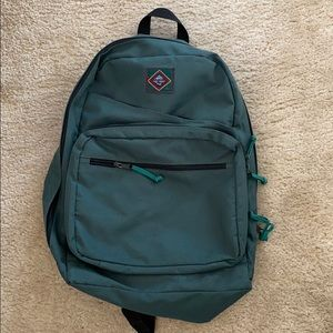 G.H. Bass Teal Backpack